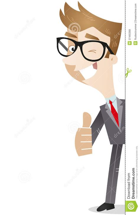 Imagenes Libres Negocios | personaje de dibujos animados pulgares del hombre de