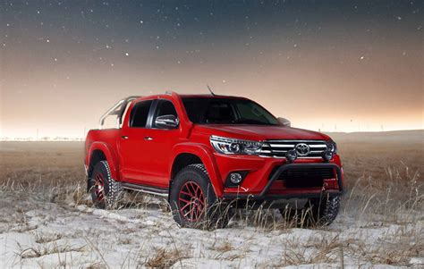 toyota middle east get your toyota hilux in gear with arctic trucks middle