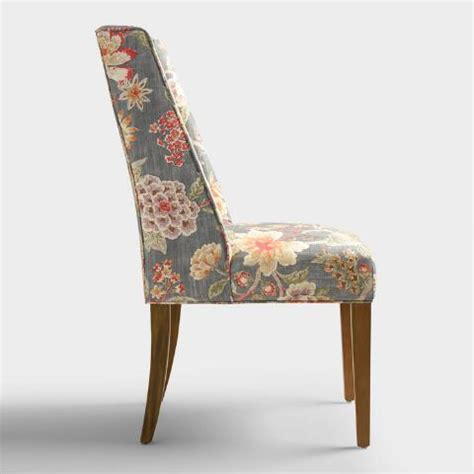 room with a view floral lawford dining chair world market room with a view floral lawford dining chair world market