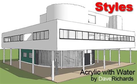 sketchup layout styles download image gallery sketchup styles