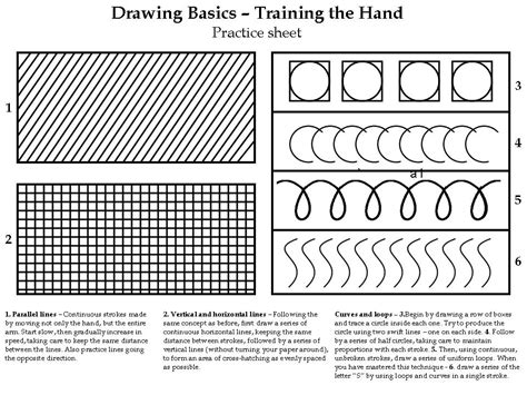 Drawing Exercises by Back To Basics A Drawing Exercise For All Skill Levels