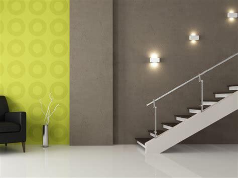 wandleuchten für treppenaufgang design treppe licht