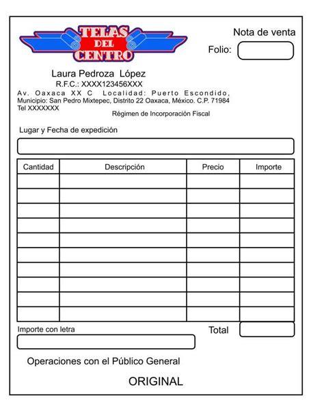 formato nota de credito ejemplo hoja pdf reader pedido 1000 notas de venta autocopiante personalizadas foliadas
