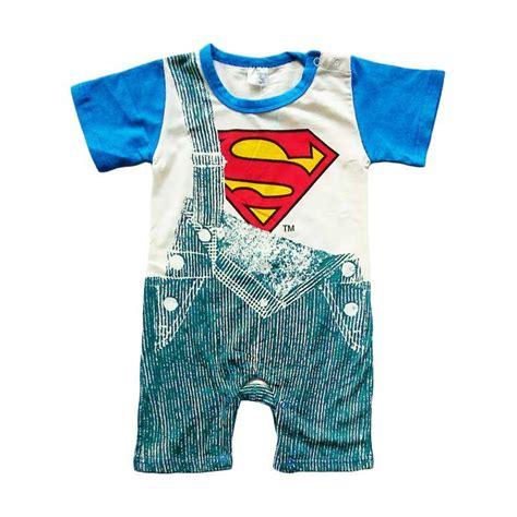 Baju Bayi Jumpsuit Jual Disney Superman Jumper Baju Jumpsuit Bayi Blue