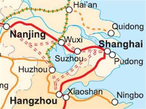 next side of yangtze delta high speed rail triangle opens