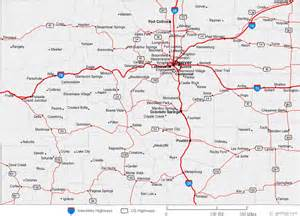 map of colorado cities colorado road map