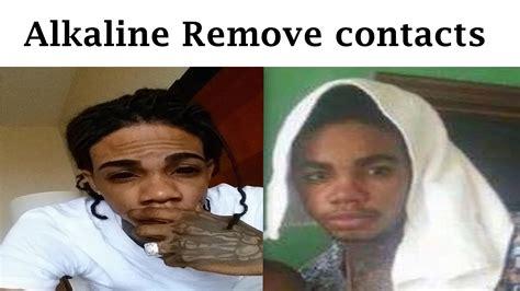 alkaline eye alkaline shocks fans by posting image of himself without