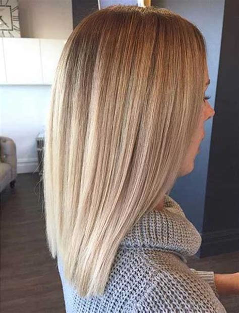 hairstyles for straight dirty hair 20 long blonde bob bob hairstyles 2017 short