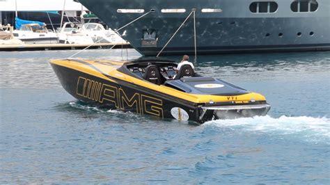 speedboot amg cigarette amg marauder 50 start monaco 2017 youtube