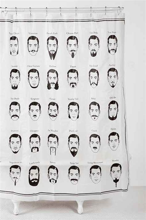 mustache shower curtain mustache shower curtain urban outfitters