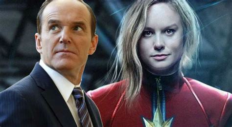 clark gregg in captain marvel clark gregg reveals first details about phil coulson s