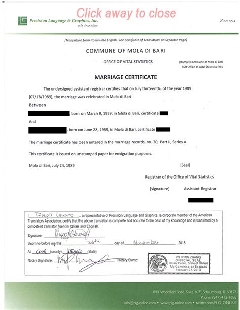 marriage certificate translation template marriage and divorce certificate translation services
