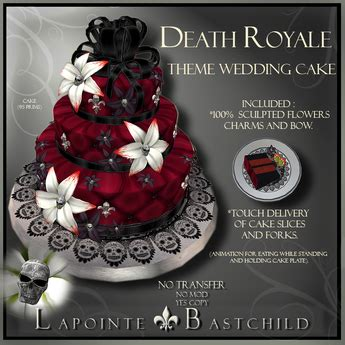 second marketplace sculpted cake quot royale quot blood skull with velvet wedding