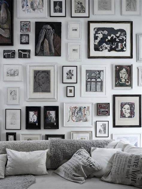 gallery wall inspiration 20 inspiring gallery walls