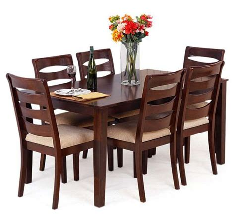 wooden dining table set contemporary dining table with