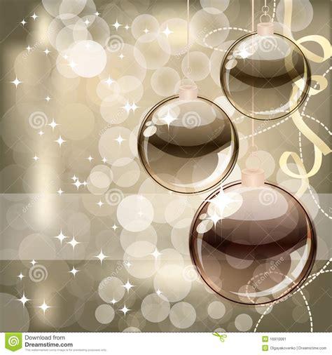 christmas background  transparent balls stock image image
