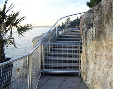 balkongeländer metall selber bauen edelstahl zaun idee
