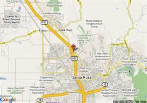 map of extended stay america santa rosa santa rosa