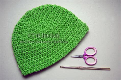 Basic Beanie by Crochet Treasures Basic Beanie Half Crochet