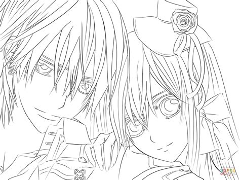 nice stunning coloring pages online cute anime coloring coloriage yuki zero de vire knight coloriages 224