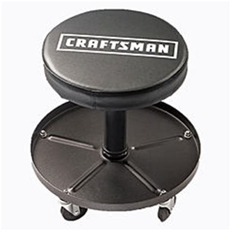 performance tool chrome plated pneumatic rolling bar stool ebay shop stools garage stools sears