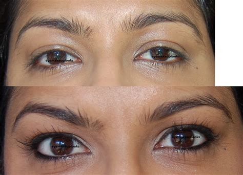 Eyeliner N Eyebrow 2in1 an eye makeup addicts magic of makeup before and after