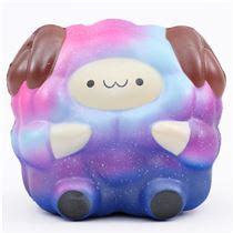 Squishy Galaksi Jumbo scented galaxy medium size pop pop sheep squishy by pat