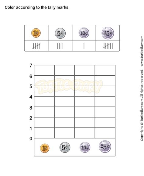 printable tally chart worksheets for tally chart worksheet 4 math worksheets grade 1