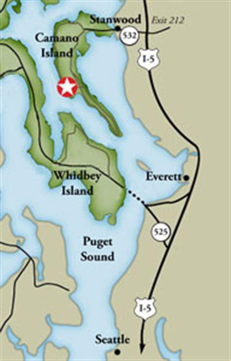 cama beach state park map cama beach historical state park washington state parks