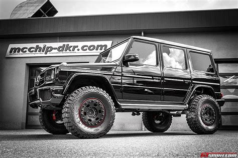 lifted mercedes official 810hp mercedes benz g63 amg by mcchip dkr gtspirit