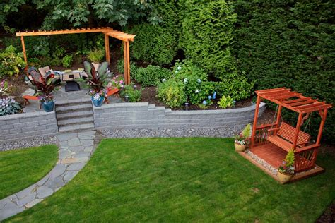 backyard retaining wall designs retaining wall ideas for best choice homestylediary com