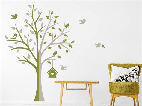 Wohnidee Wohnzimmer 5058 by Wandtattoo Kreativer Baum Wandtattoo De