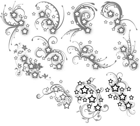 star and swirl tattoo designs and swirls design for tattoomagz