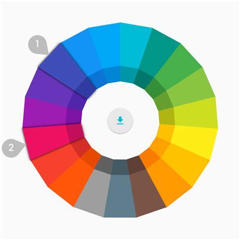 matrial color material design lite