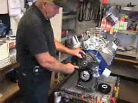 ford water pump technical help video youtube