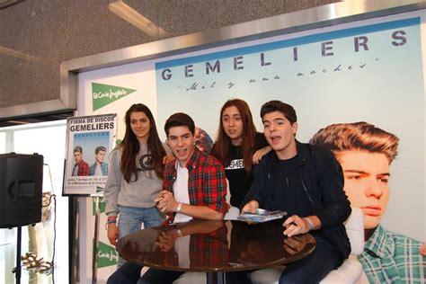 firma de discos de gemeliers 2015 gemeliers firma de discos 2015 barcelona firma de discos