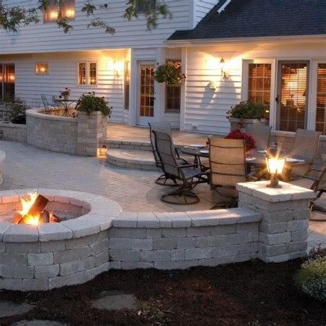 ideas for back patio backyard patio idea favething