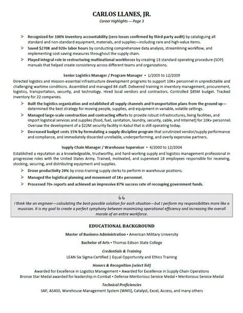 24 best sample executive resume templates wisestep