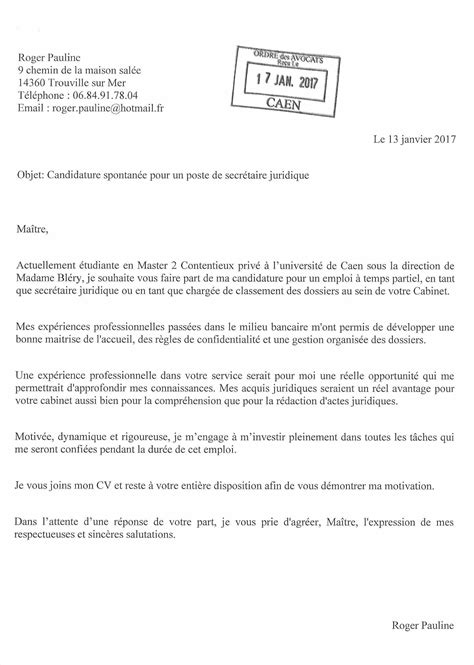 Lettre De Motivation Cabinet De Conseil by Cabinet Recrutement Caen