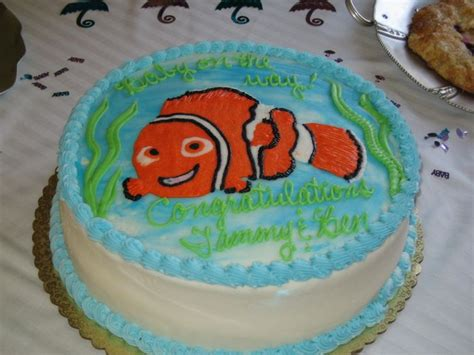nemo cake template 20070804 baby shower august 2007 picasa template by