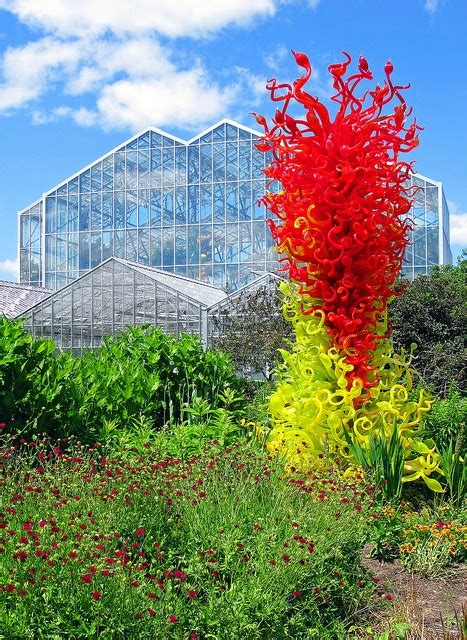 Meijer Frederick Gardens by Citrus Green And Tower 1998 Don Chihuly S Citrus