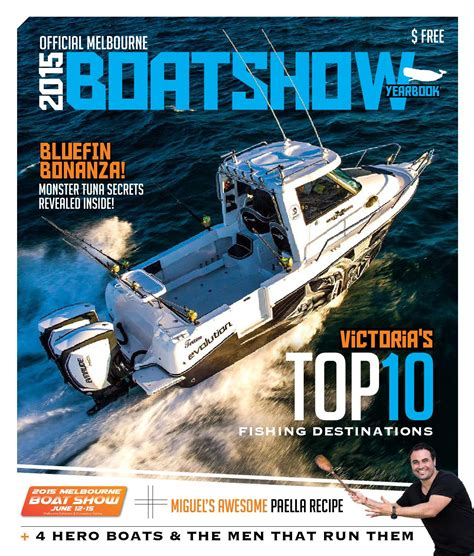 melbourne boat show 2015 official melbourne boat show yearbook by moby dick