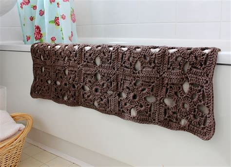Mat Pattern by Free Pattern Fabulous Crochet Bath Mat