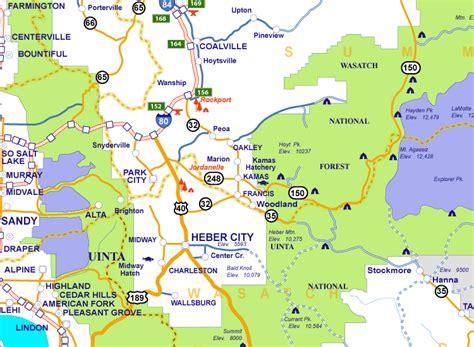 city utah map related keywords suggestions for heber city utah map