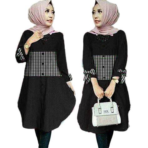 Zoya Tunik baju atasan tunik wanita baju muslim zoya shopee indonesia