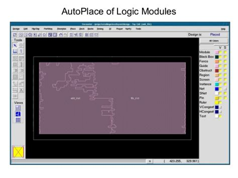 Floorplanning Online asic pd