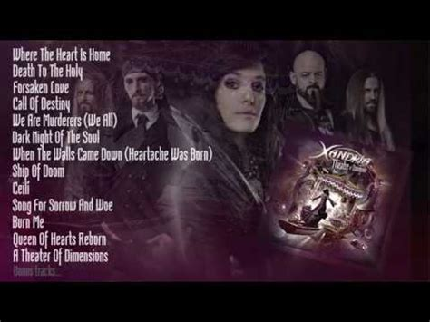 lyrics xandria xandria of the soul lyrics