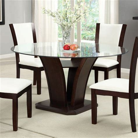 Glass Top Dining Room Set glass top dining room sets home furniture design