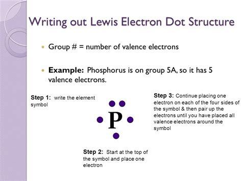 solved write a lewis electron phosphorus valence symbol