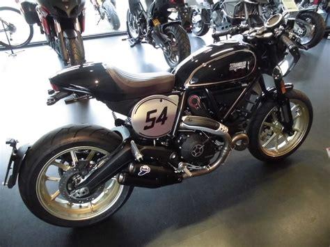 Ducati Motorrad Scrambler by Umgebautes Motorrad Ducati Scrambler Cafe Racer Team